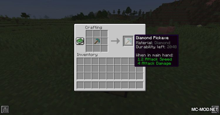 Advanced Tools mod for Minecraft (2)