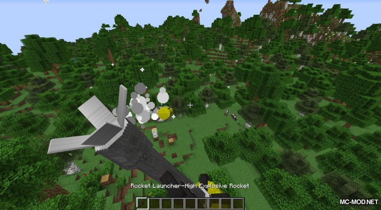 Atomic Explosion mod for Minecraft (12)