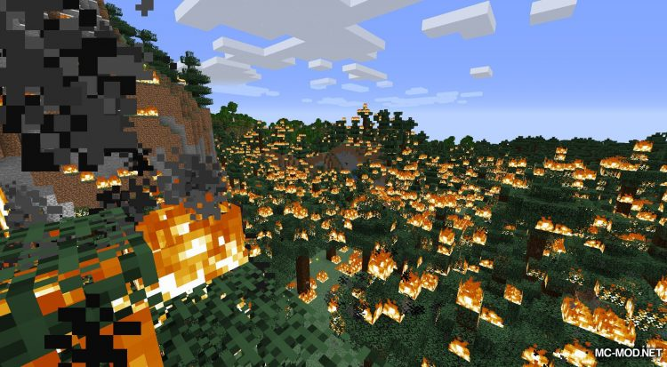 Atomic Explosion mod for Minecraft (6)