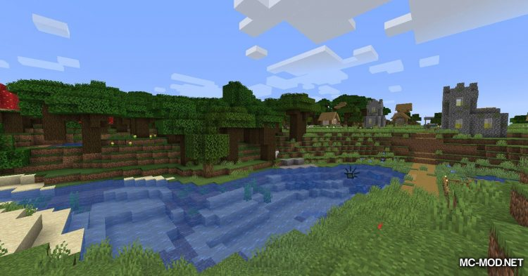 Berry Bushes mod for Minecraft (2)