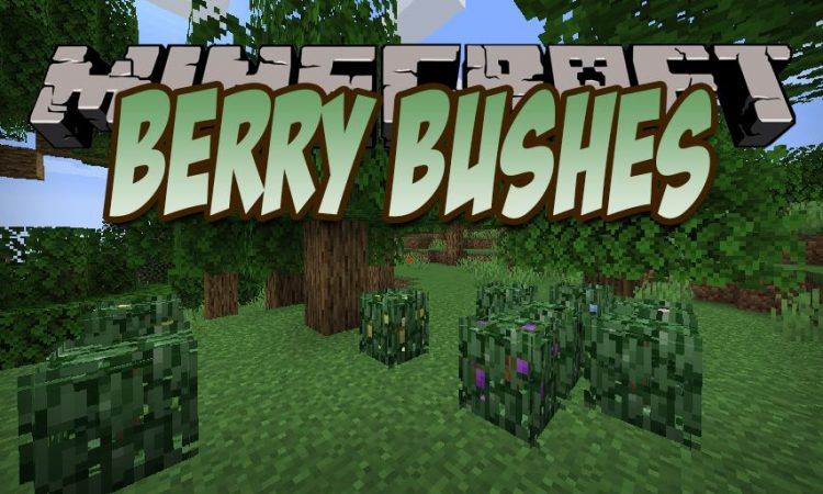 Berry Bushes mod for Minecraft logo