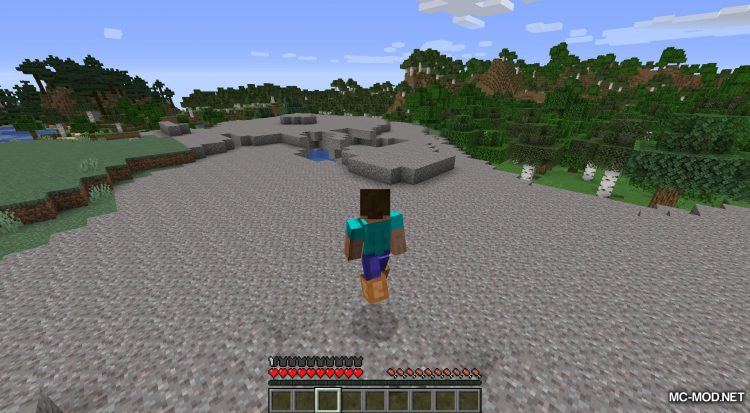 Bunny Boots mod for Minecraft (1)