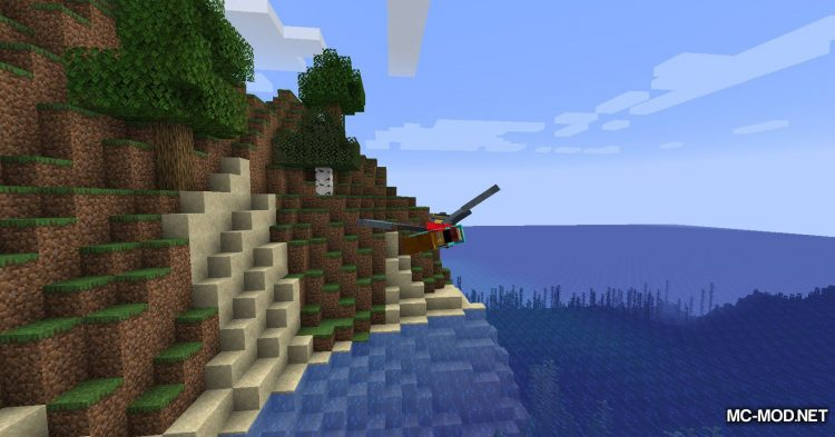 Colytra mod for Minecraft (5)