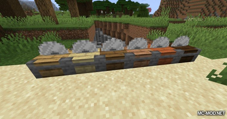 Corail Woodcutter mod for Minecraft (7)