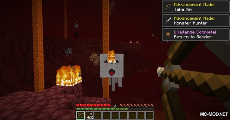 Crying Ghasts mod for Minecraft (5)