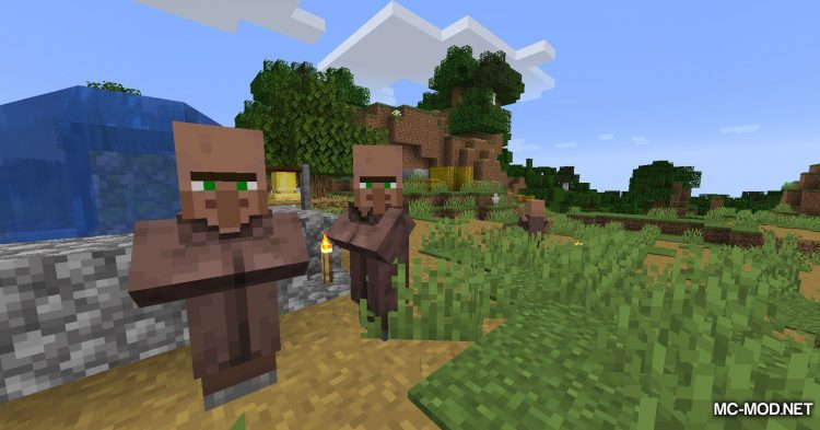 Cursed mod for Minecraft (2)