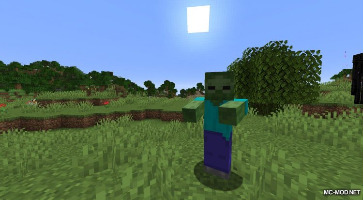 Daylight Mobs mod for Minecraft (3)