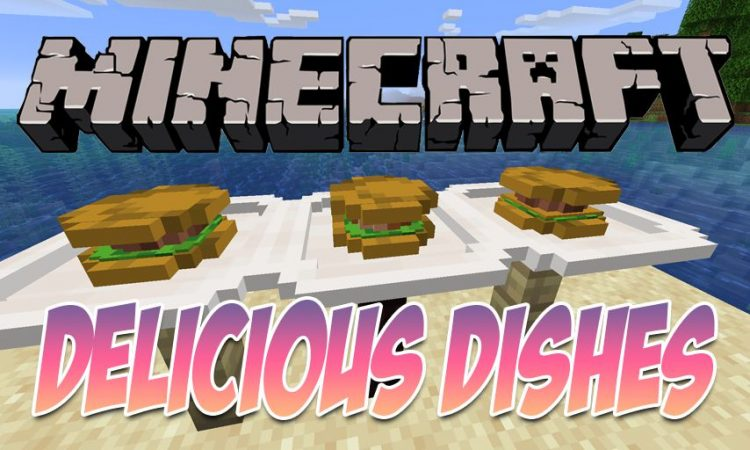 Delicious Dishes mod for Minecraft logo