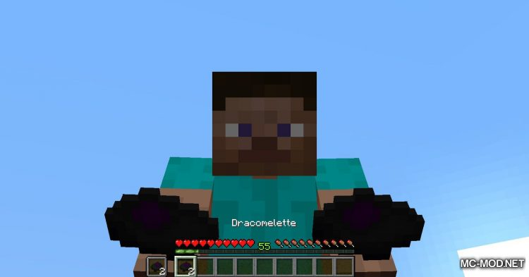 Dracomelette mod for Minecraft (9)
