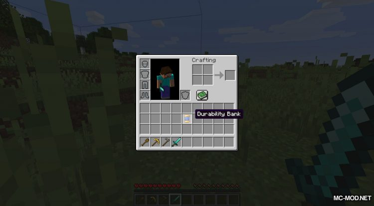 Durability Banks mod for Minecraft (5)