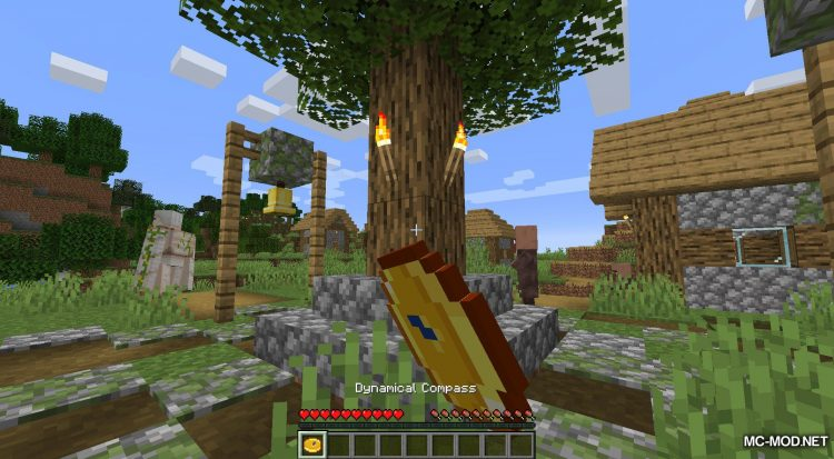 Dynamical Compass mod for Minecraft (5)