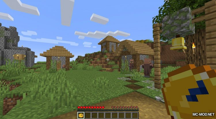 Dynamical Compass mod for Minecraft (6)