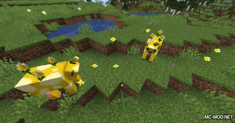 Earth Mobs mod for Minecraft (10)