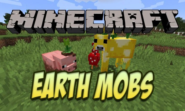 Earth Mobs mod for Minecraft logo