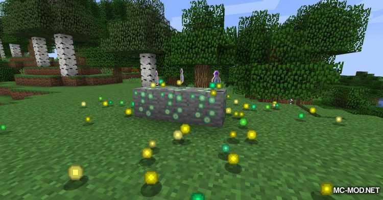Exp Ore mod for Minecraft (12)