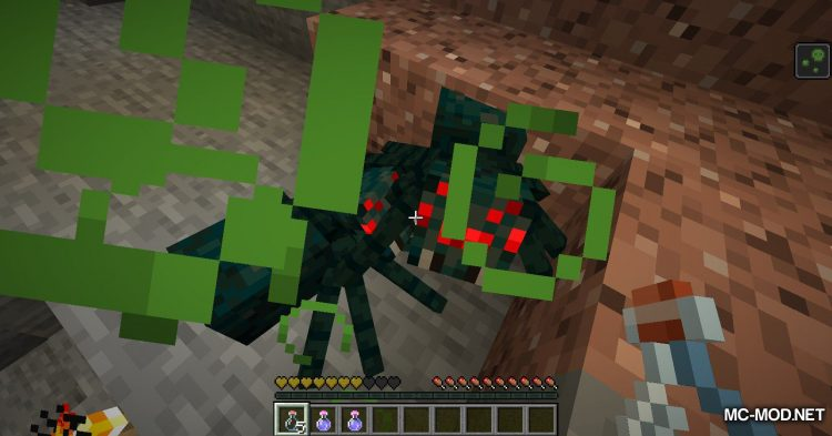 Exrtact Poison mod for Minecraft (4)