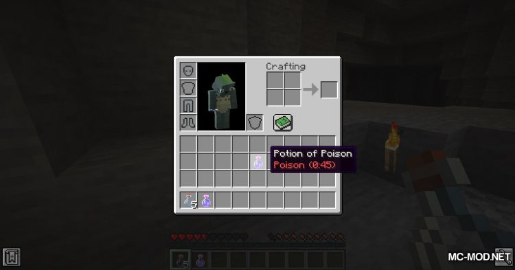 Exrtact Poison mod for Minecraft (5)
