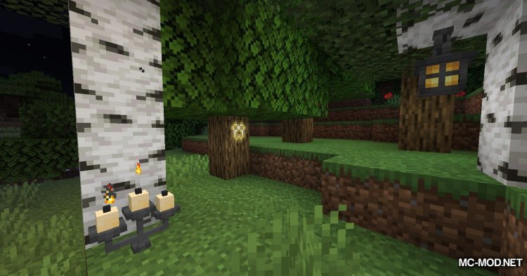 Extended Lights mod for Minecraft (17)