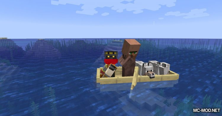 Extra Boats mod for Minecraft (14)