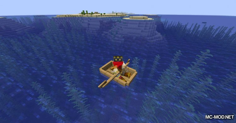 Extra Boats mod for Minecraft (3)