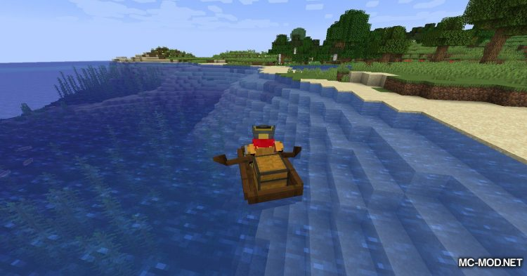 Extra Boats mod for Minecraft (5)