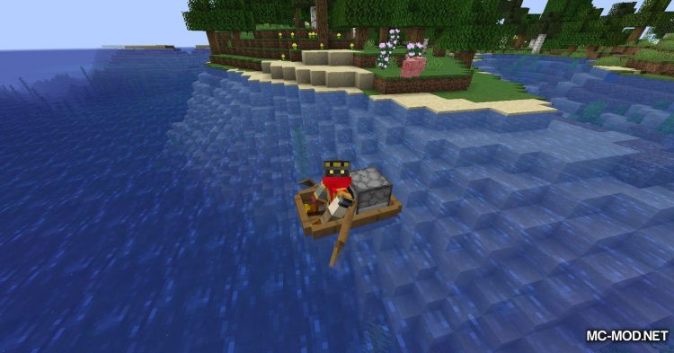 Extra Boats mod for Minecraft (8)