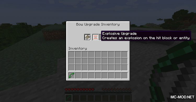 Extra Bows mod for Minecraft (1)