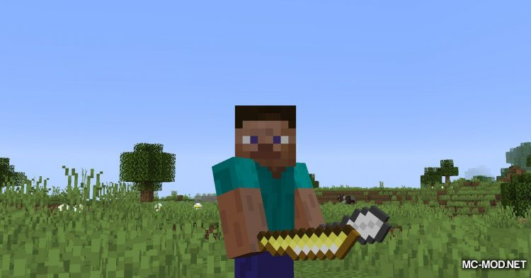Extra Weapons mod for Minecraft (2)
