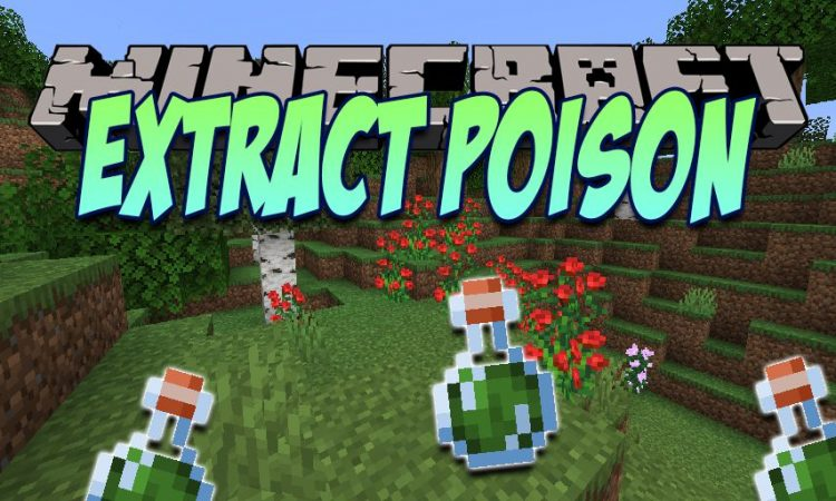 Extract Poison mod for Minecraft logo