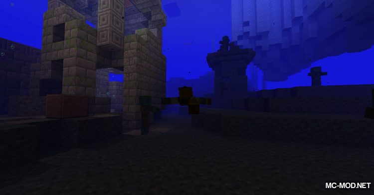 Fancy Fountain Passage mod for Minecraft (13)