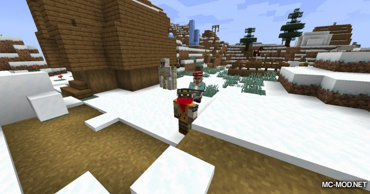 Fancy Fountain Passage mod for Minecraft (15)