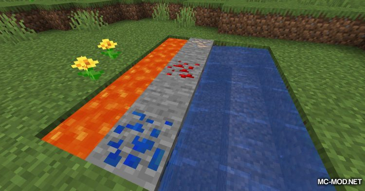 Fluid Interactions mod for Minecraft (3)