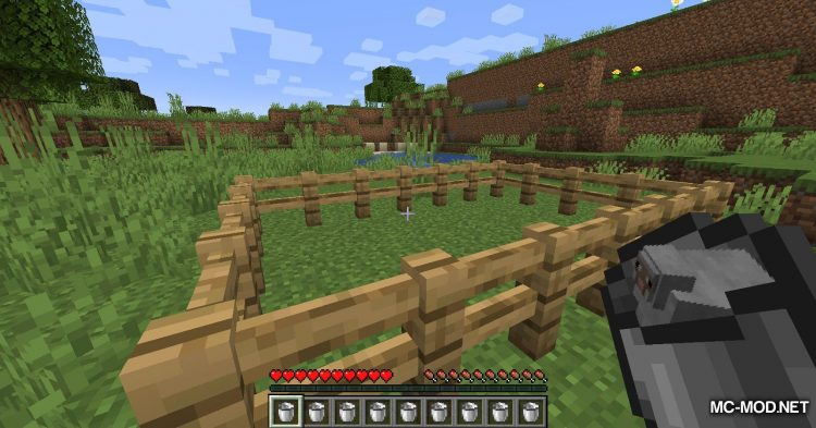 Get In The Bucket mod for Minecraft (12)