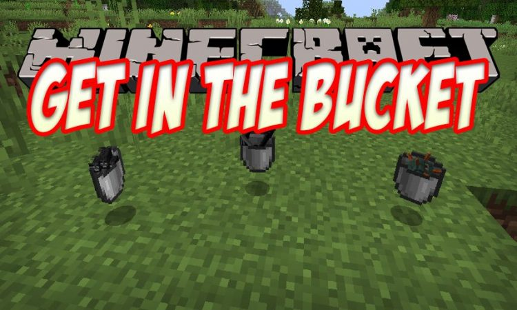 Get In The Bucket mod for Minecraft logo