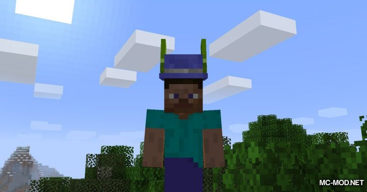 Give Me Hats mod for Minecraft (12)