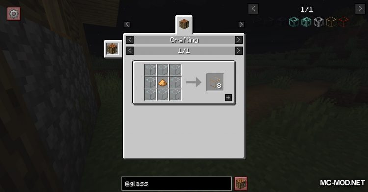 Glassential mod for Minecraft (4)