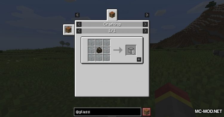 Glassential mod for Minecraft (7)
