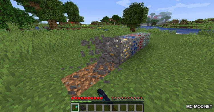 Gravel Ores mod for Minecraft (12)