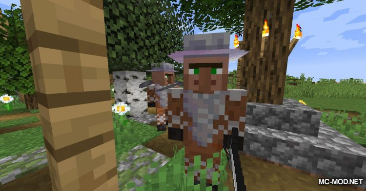 Guard Villagers mod for Minecraft (3)