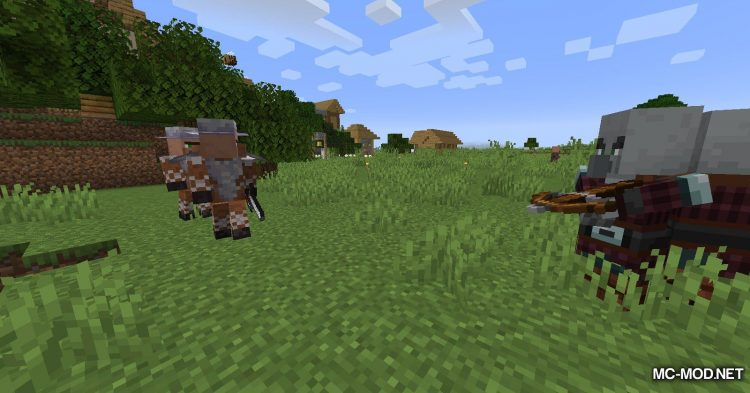 Guard Villagers mod for Minecraft (7)
