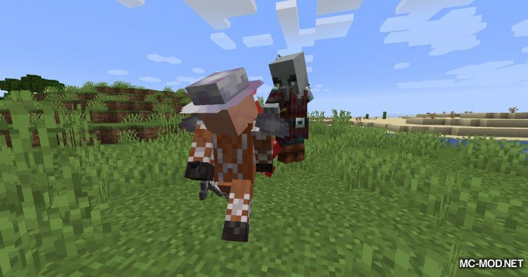 Guard Villagers mod for Minecraft (8)