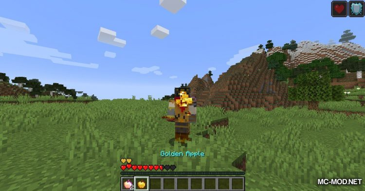 Hunger Remover mod for Minecraft (7)