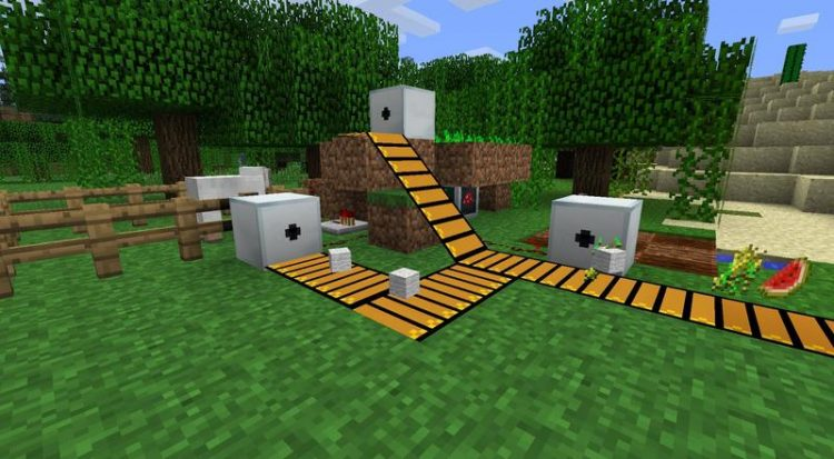 Industrial Foregoing mod for minecraft 05
