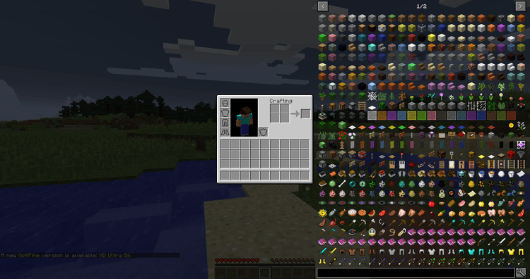 Just Enough Items Mod 1