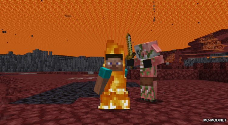 Lava Clear View mod for Minecraft (9)