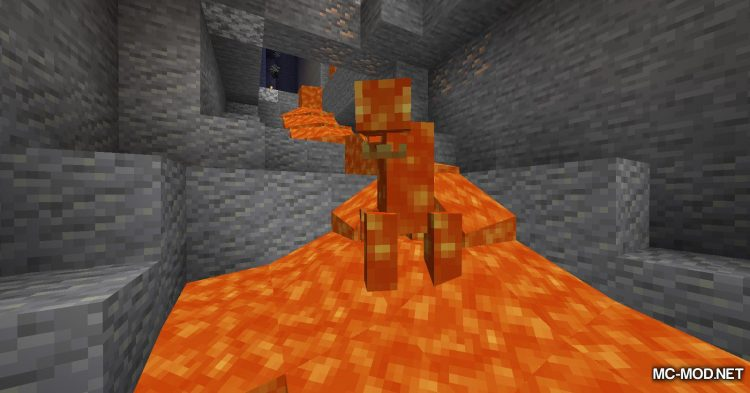 Lava Monsters mod for Minecraft (2)