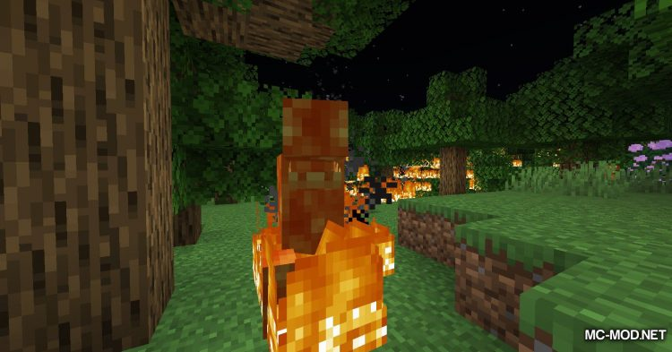 Lava Monsters mod for Minecraft (9)