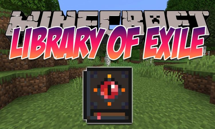 Library of Exil mod for Minecraft logo