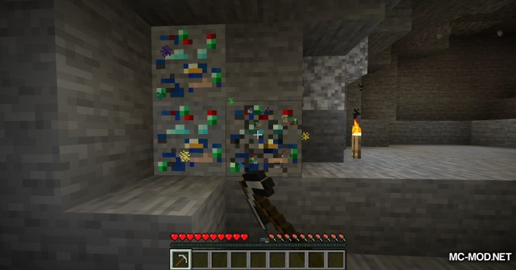 Lucky Ores mod for Minecraft (3)