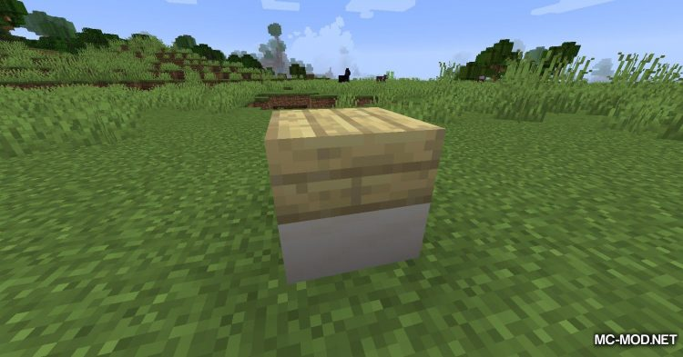 Mixed Slab mod for Minecraft (4)